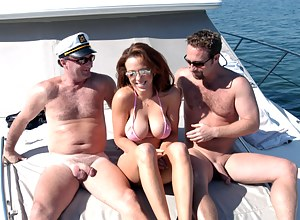 Big Boobs Boat Porn Pictures